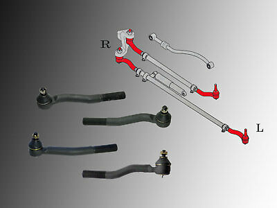 4 x Rotule de direction Jeep Grand Cherokee WJ , WG 1999-2004 Kit LHD
