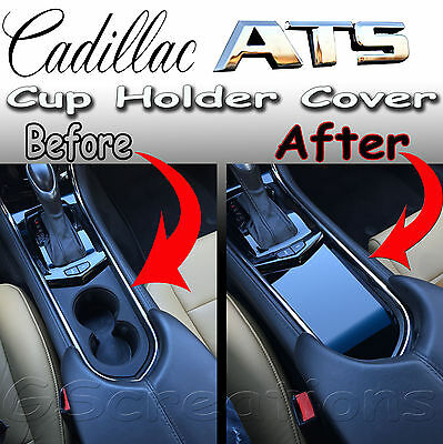 Cadillac ATS Front Cup Holder Cover Solid Style 2013 2014 2015