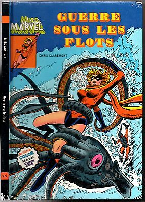 MISS MARVEL # GUERRE SOUS LES FLOTS # 1981 ARTIMA COLOR SUPER STAR 23 cartonné