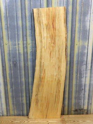 Gorgeous Spalted Maple Rustic Wood Furniture/ Craftwood Lumber Slab 4623