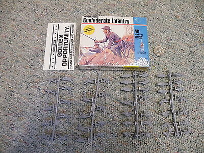 Airfix MPC 1/72  Confederate Infantry  1982 USA issue set