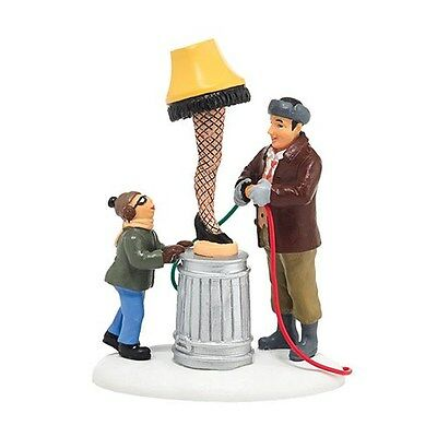 DEPT 56 A CHRISTMAS STORY THE OLD MAN'S MAJOR PRIZE