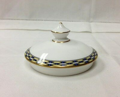 "Royal Worcester ""francesca Gold"" Sugar Bowl Lid, Bone China New Made In England"