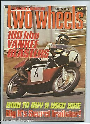 Two Wheels Magazine March 1973