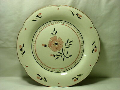 """Stangl Pottery Colonial Rose 12 3/4"""" Chop Plate"""
