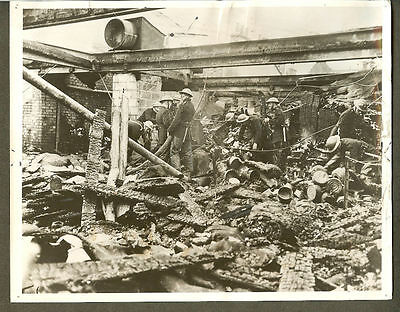 1940 London England Bombed Woolworth Store Original Press Photo