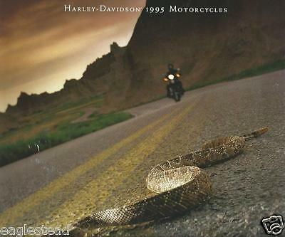 Motorcycle Brochure - Harley Davidson - Product Line - 1995  OS (DC361)