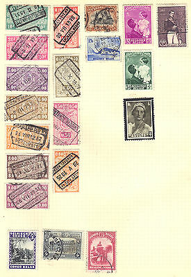 BELGIUM Old Stamp Collection Used Mint Ref:F555