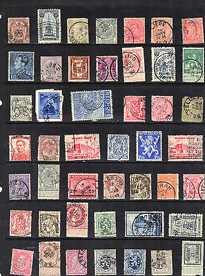 BELGIUM Old Stamp Collection Used Ref:F449