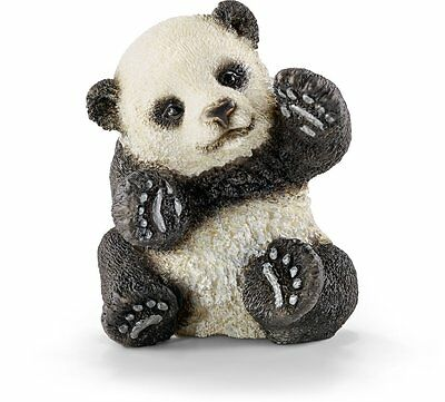 NEW SCHLEICH 14734 Panda Cub Baby Playing