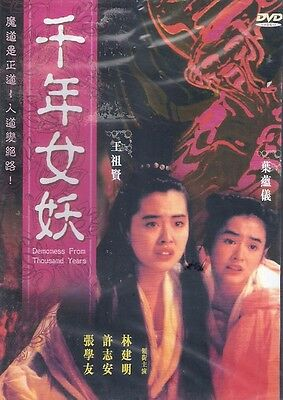 Demoness From Thousand Years DVD Jacky Cheung Joey Wang Andy Hui NEWEng Sub
