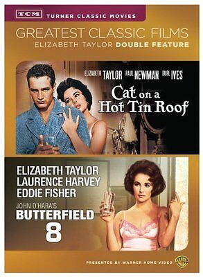 TCM Butterfield 8/Cat on a Hot Tin Roof (DVD) (DBFE) NEW!