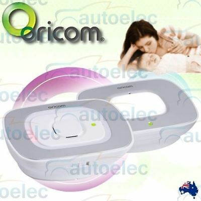 Oricom Secure 55 Digital Wireless  Baby Monitor New Visual Noise Alert