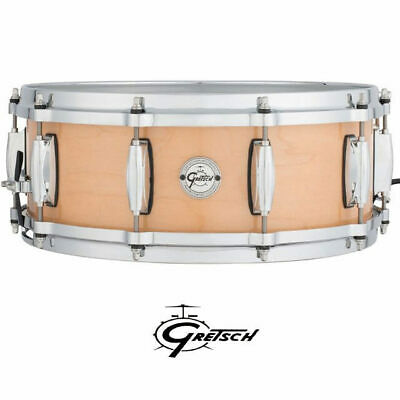 Gretsch Maple 14 x 5 inch Snare drum Silver Series with di-cast hoops 10 Ply