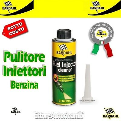 Pulisci Iniettori Bardahl 300Ml Benzina Fuel Injector Cleaner Additivo Pulitore
