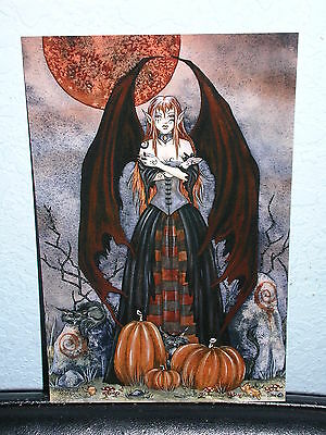 Amy Brown - Harvest Moon - Mini Print