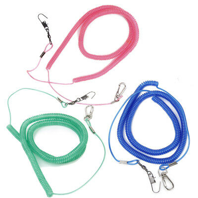 Random One 20Ft Parrot Bird Lead Leash Flying Training Rope for Cockatiel