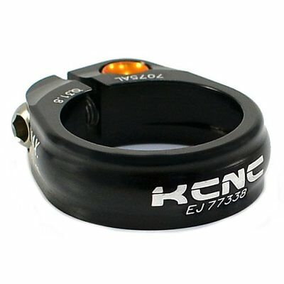 KCNC SC9  Seat Post Clamp 7075 Alloy , 31.8mm , Black