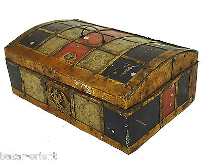 antik kiste truhe schmuckkasten Schatztruhe antique islamic trinket box 19 Jh.-A