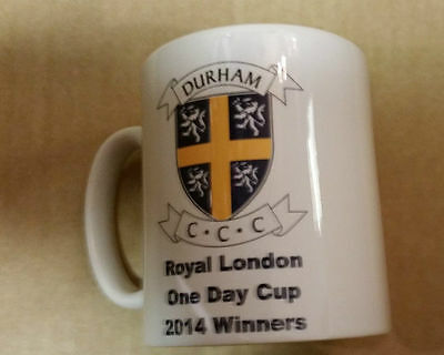 Durham CCC Official Royal London 2014 One Day Cup Winners Mug