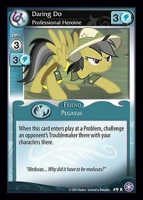 1x Daring Do, Professional Heroine - 9 - My Little Pony The Crystal Games MLP CC