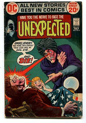 Unexpected 137 VG/FN Horror Dc Comics  CBX11A