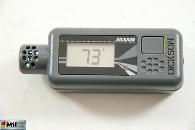 Dickson Temperature & Humidity Data Logger