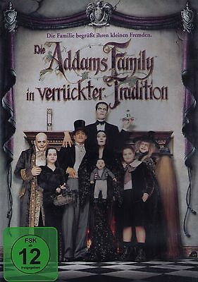 DVD NEU/OVP - Die Addams Family in verrückter Tradition - Anjelica Huston