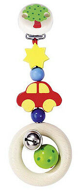 Heimess CARS CLIP ON Wooden Baby/Child Toy BN