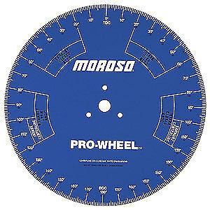 Moroso 62191 Moroso 18'' Degree Wheel