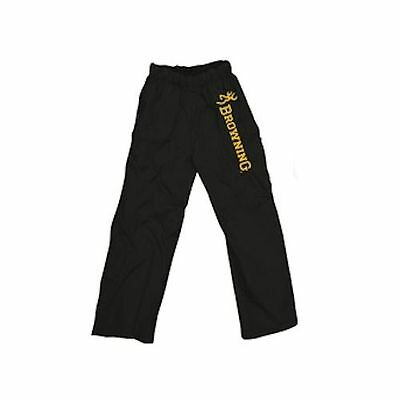 Browning Over-Trousers Black Fishing Bottoms Pants Waterproof Keep Clean