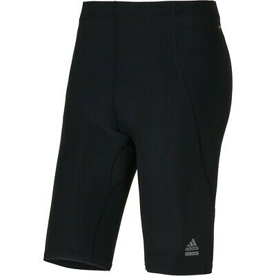 adidas Techfit Preparation Short Lauf Tight Radlerhose Kinder ClimaLite schwarz