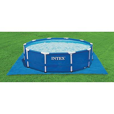 Intex 8/10/12/15/ft Swimming/Paddling Pool Ground Cloth Sheet Garden Protector