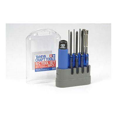 TAMIYA 74085 R/C Tool Set 8 Piece - Tools / Accessories