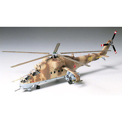 TAMIYA 60705 Mil Mi-24 Hind 1:72 Helicopter Model Kit