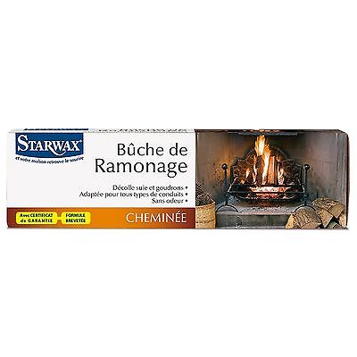 STARWAX BUCHE DE RAMONAGE Traitement catalytique spécial conduits ref 1205