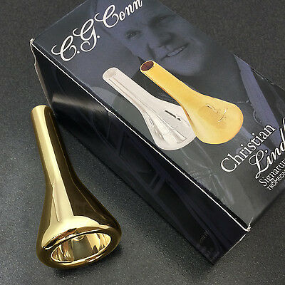 Christian Lindberg Gold Trombone Mouthpiece, 2CL Large Shank **New in Box**
