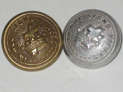 Pair of In Hoc Signo Vinces Knights Templar Masonic  Buttons Free Ship