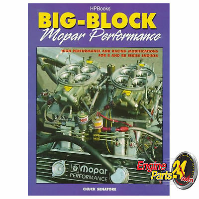 Chrysler Valiant 383 440 Book B Rb Big Block Mopar Performance Hp1302