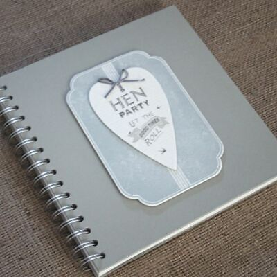 East of India Hen Party - Guest Book - Album / Keepsake -Let the good times roll