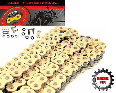 Yamaha FZS600 Fazer 98-03 Gold Extra Heavy Duty 530 X-Ring GTR Chain