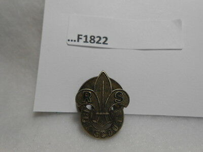 Rover Scouts Lapel Pin Traded For At 1929 World Jamboree F1822