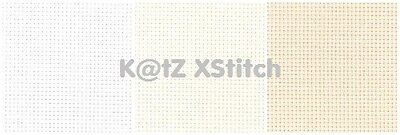 20 COUNT ZWEIGART AIDA 50 x 55cm / 19½ x 21½in (FAT QUARTER) - Various Colours