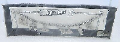 Vintage RARE DISNEYLAND Silver Tone Charm Attaction Bracelet Old New Stock