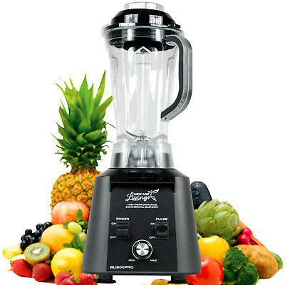 New 3.5Hp High Performance Pro Commercial Fruit Smoothie Blender Juice Mixer 8