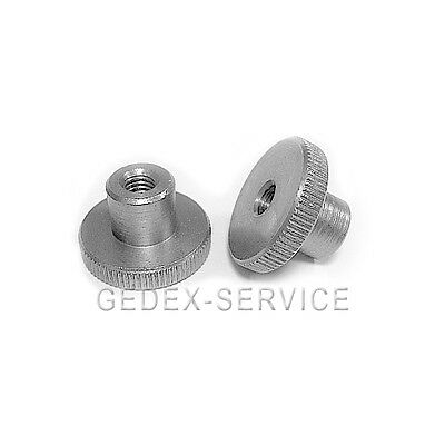 5 Knurled nut high Form DIN 466 M3 STAINLESS STEEL M 3
