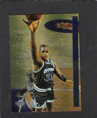 1993-94 Upperdeck SE Behind the Glass Insert SHAQUILLE O'NEAL   Shaq - Magic