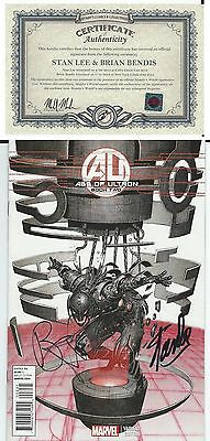 Age Of Ultron  Book Two Foil Variant Signed Stan Lee W/ Coa Avengers 2 Film