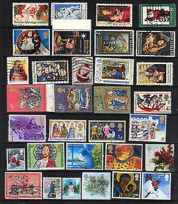 CHRISTMAS Thematic  Stamp Collection Majority USED REF:TH51