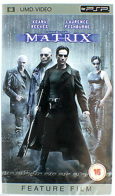Die Matrix (Keanu Reaves) UMD Film Sony PSP NEU